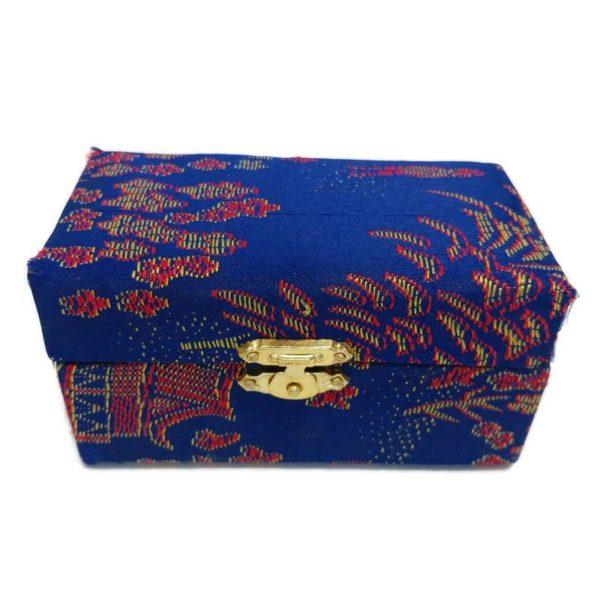Blue baoding ball brocade box