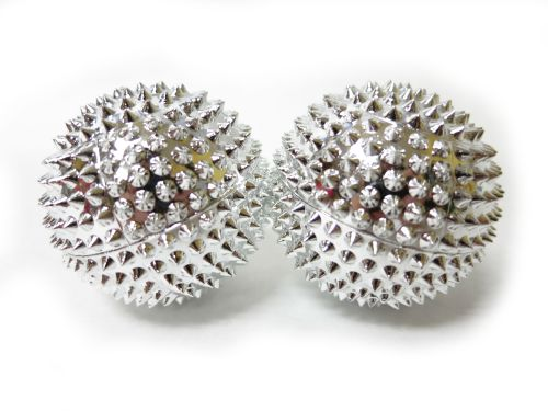 baoding balls with massaging spikes