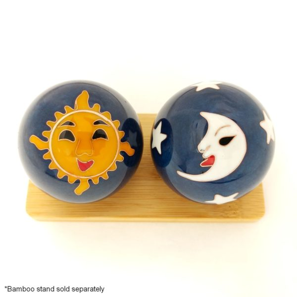 Sun and moon baoding balls