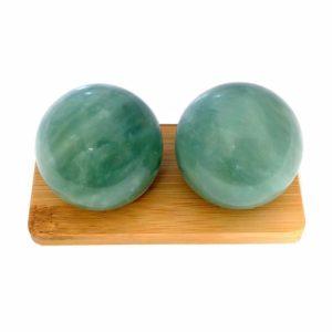 Green Jade Baoding Balls