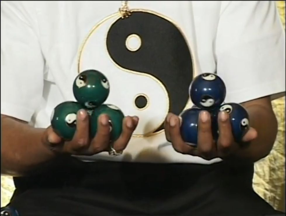 The Art of Chinese Yin Yang Baoding Ball Performance