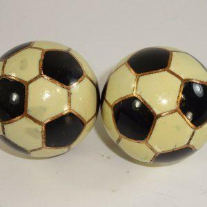 Vintage soccer ball baoding balls