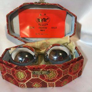 Vintage silver baoding balls