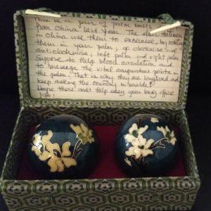 Vintage flower baoding balls