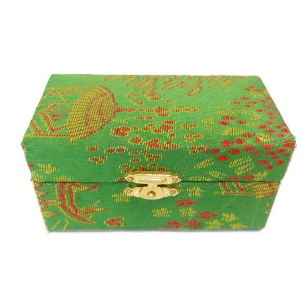 Green baoding ball brocade box