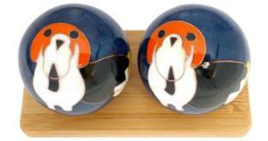 Dog Chinese zodiac baoding balls