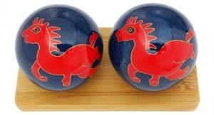 Horse Chinese zodiac baoding balls