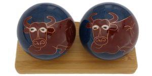 Ox Chinese zodiac baoding balls