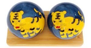 Tiger Chinese zodiac baoding balls