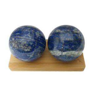 Lapis Lazuli Baoding Balls